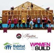 Keystone Women Build team